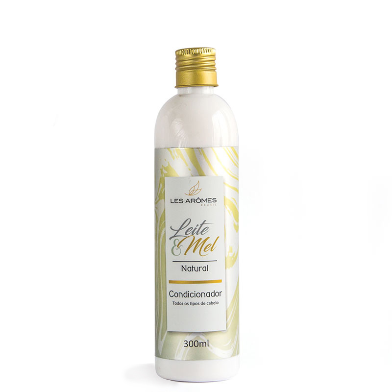 Condicionador Natural Leite e Mel 300ml