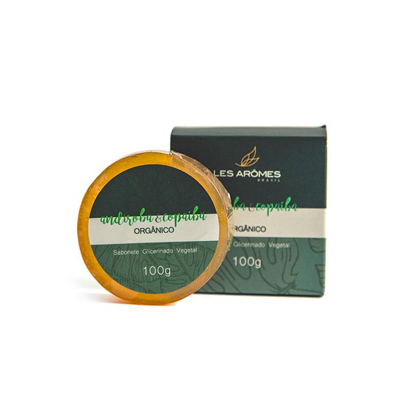 Sabonete Vegano Andiroba e Copaíba Orgânico 100g