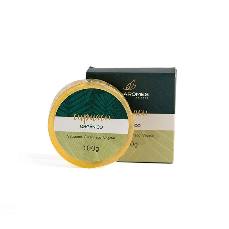 Sabonete Glicerinado Vegano Cupuaçu Orgânico