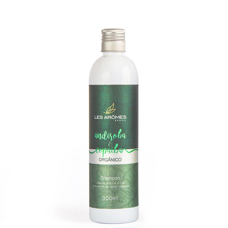 Shampoo Vegano Andiroba e Copaíba Orgânico 300ml