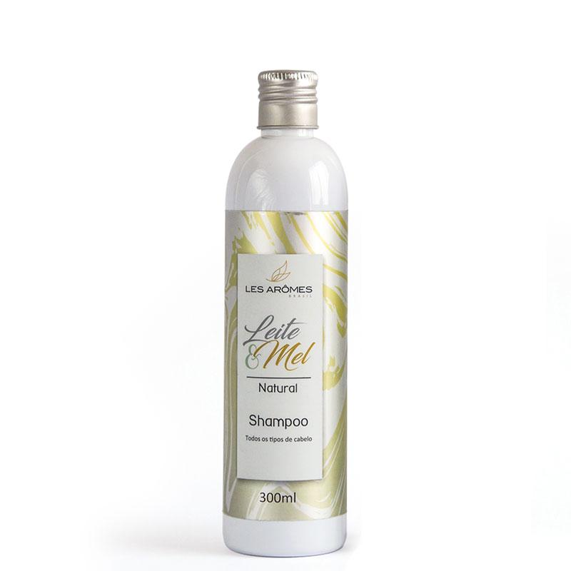 Shampoo Natural Leite e Mel