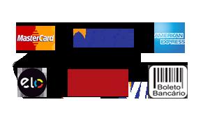 Formas de Pagamento Cartões Crédito e Débito - PagSeguro