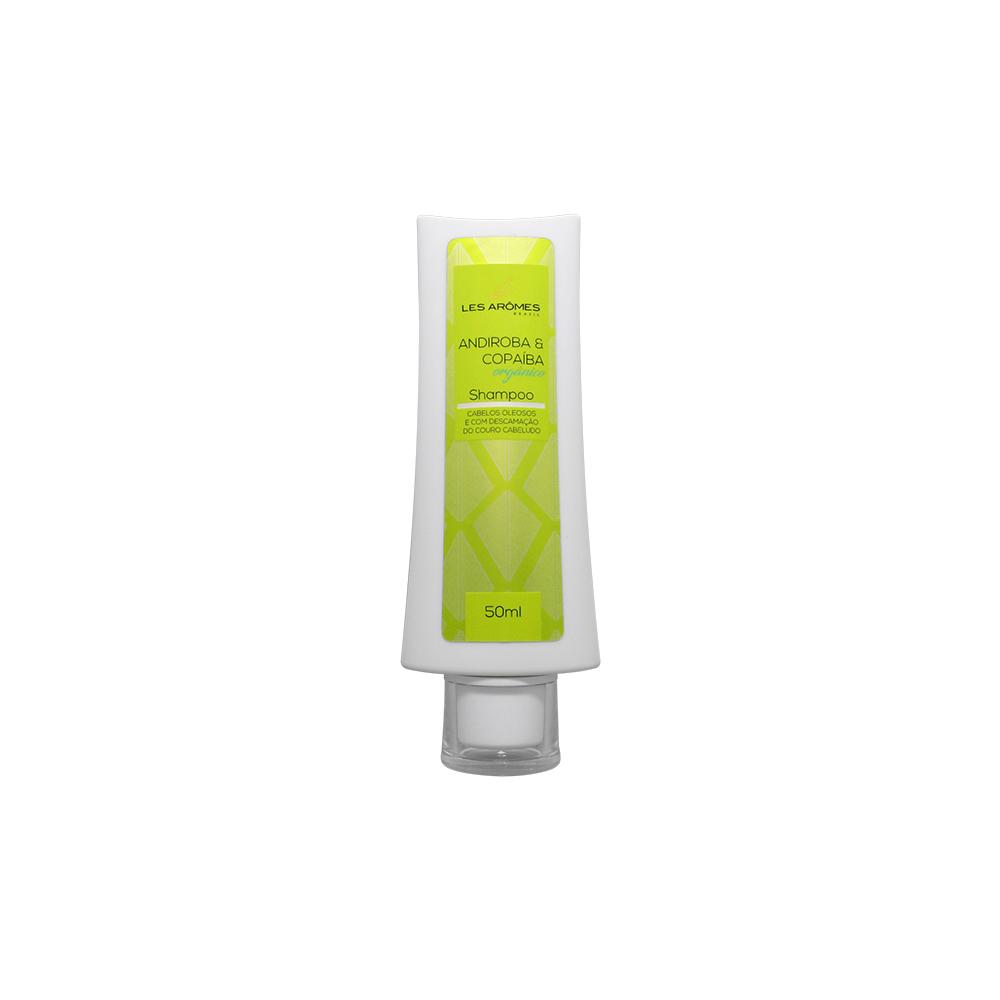 Shampoo Vegano Andiroba e Copaíba Orgânico 50ml